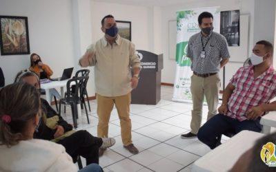 Siembra de árboles, revisión del Psmv y ordenamiento territorial, compromisos del director general de la CRQ con Quimbaya