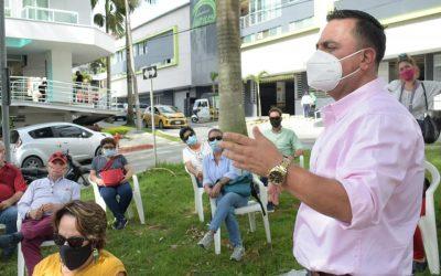 El barrio Laureles tendrá sendero perimetral e intervención gracias al proyecto Biodiverciudades que lidera la CRQ.