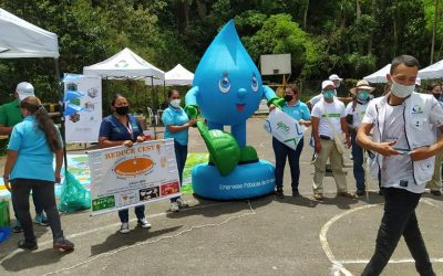 CRQ se unió a la campaña nacional Colombia Limpia desarrollada en el sector de Boquia.