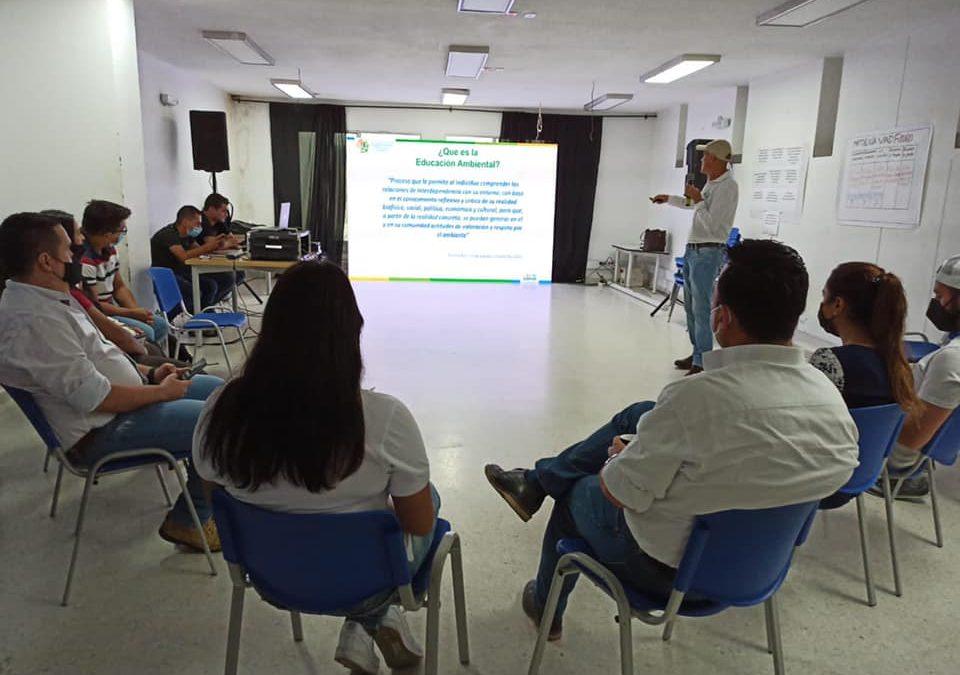 """Apertura del foro """"Construcción del plan departamental de educación ambiental"""""""