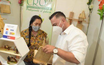 Nueve negocios verdes de la CRQ participan en la feria Artesanía y Folclor que se realizará hasta mañana lunes 18 de octubre