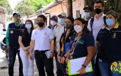 60 familias del barrio Los Quindos impactadas con educación ambiental